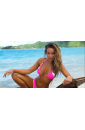 SPORTS ILLUSTRATED KIRIBATI TOP NEON PINK